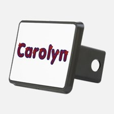 Carolyn Red Caps Hitch Cover