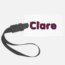 Clare Red Caps Luggage Tag