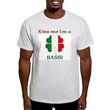 Bassi Family Ash Grey T-Shirt