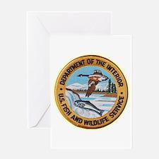 U S Fish Wildlife Service Greeting Card