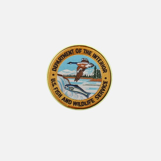 U S Fish Wildlife Service Mini Button