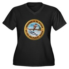U S Fish Wildlife Service Plus Size T-Shirt