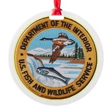 U S Fish Wildlife Service Ornament