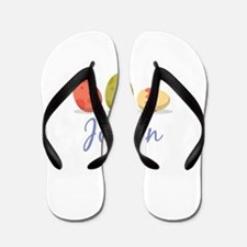 Easter Egg Jillian Flip Flops