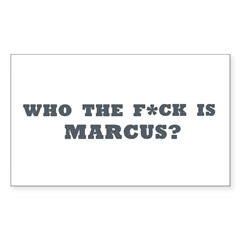 Marcus - Rectangle Decal