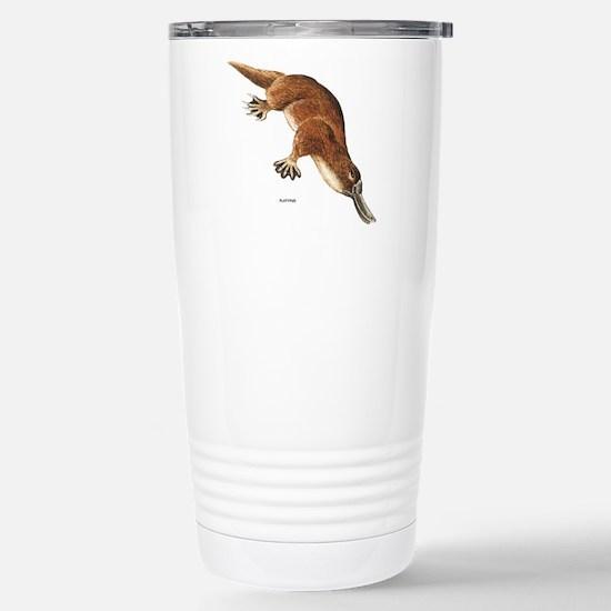 Platypus Animal Stainless Steel Travel Mug