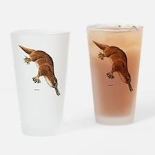 Platypus Animal Drinking Glass