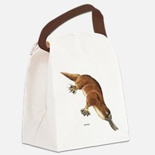 Platypus Animal Canvas Lunch Bag