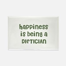 Happiness is being a DIETICIA Rectangle Magnet