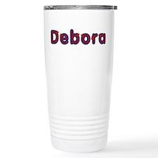 Debora Red Caps Travel Mug
