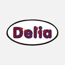 Delia Red Caps Patch