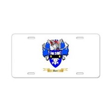 Barr Aluminum License Plate