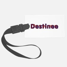 Destinee Red Caps Luggage Tag