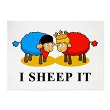 I Sheep It 5'x7'Area Rug