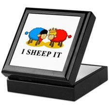 I Sheep It Keepsake Box