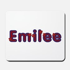 Emilee Red Caps Mousepad