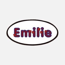 Emilie Red Caps Patch