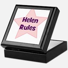 Helen Rules Keepsake Box