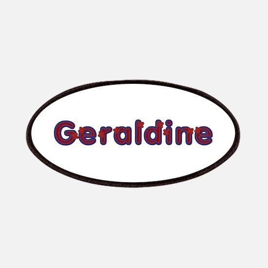 Geraldine Red Caps Patch