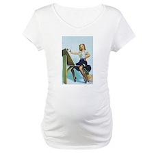 Classic Elvgren 1950s Pin Up Girl Shirt