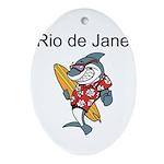 Rio de Janeiro Ornament (Oval)