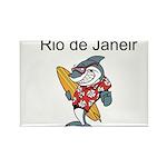Rio de Janeiro Rectangle Magnet (100 pack)
