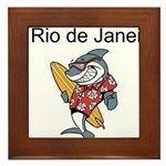 Rio de Janeiro Framed Tile