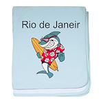 Rio de Janeiro baby blanket