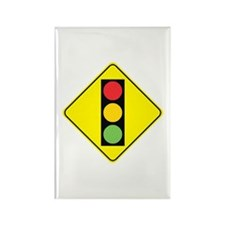 Signal Ahead Rectangle Magnet