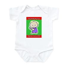 Baby Jesus Birthday Infant Creeper