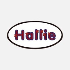 Hallie Red Caps Patch