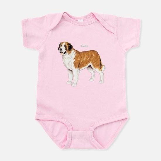St. Bernard Dog Infant Bodysuit