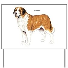 St. Bernard Dog Yard Sign