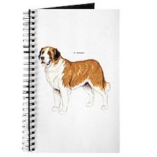 St. Bernard Dog Journal