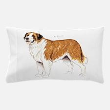 St. Bernard Dog Pillow Case