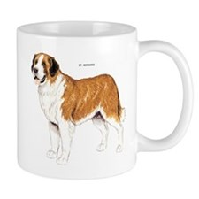 St. Bernard Dog Mug
