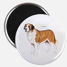 St. Bernard Dog Magnet