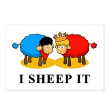 I Sheep It Postcards (Package of 8)