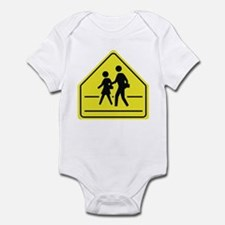 School Crossing Infant Bodysuit