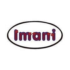 Imani Red Caps Patch