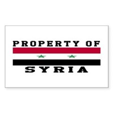 Property Of Syria Decal