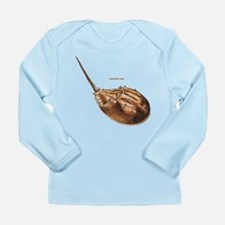 Horseshoe Crab Long Sleeve Infant T-Shirt