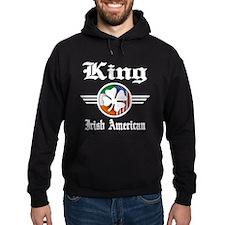 Irish American King Hoodie