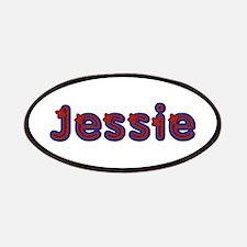 Jessie Red Caps Patch