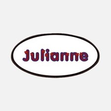 Julianne Red Caps Patch