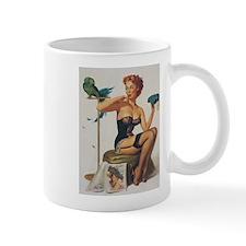 Classic Elvgren 1950s Pin Up Girl Mug