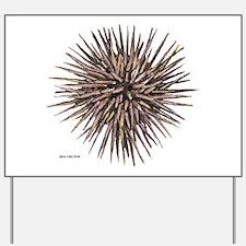 Sea Urchin Yard Sign