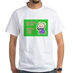Christmas Horizontal White T-Shirt