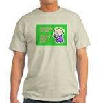 Christmas Horizontal Ash Grey T-Shirt