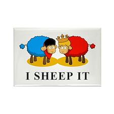 I Sheep It Rectangle Magnet